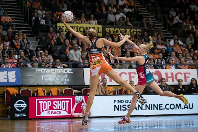 Giants Netball vs Melbourne Vixens