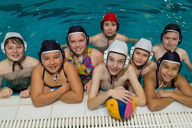 Aquatic Centre - Water Polo Clinic - Photography by Paul K Robbins