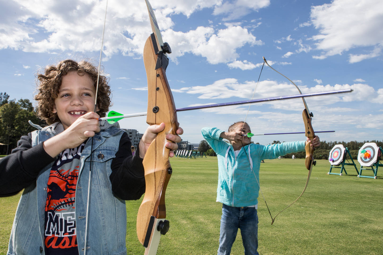 Archery School Holiday Programs Sydney Olympic Park