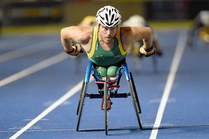Athletic Centre - Kurt Fearnley Paralympian - Photography Delly Carr