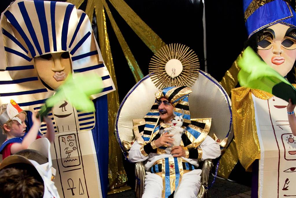Pharaoh Fun with King Tut