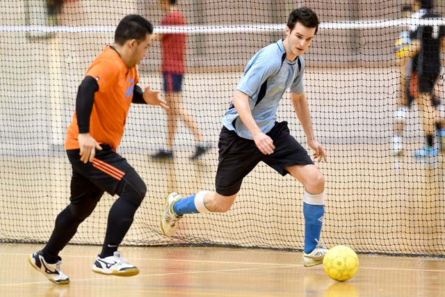 Sports Halls - Indoor Soccer - Photography by Delly Carr