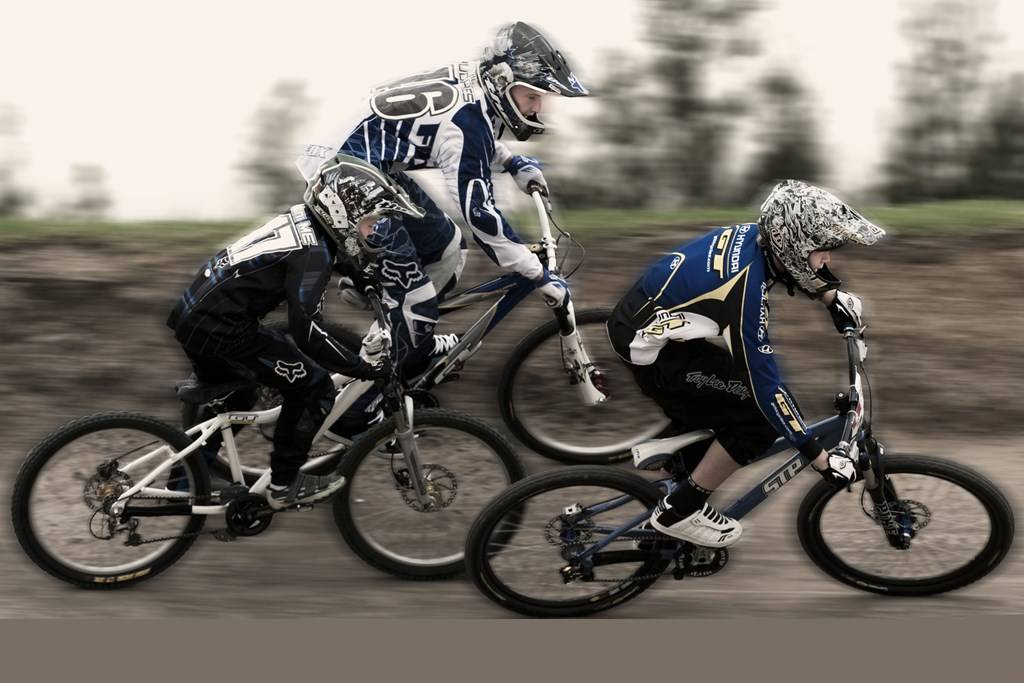 BMX and Mountain X at Monster BMX Track - Sydney Olympic Park