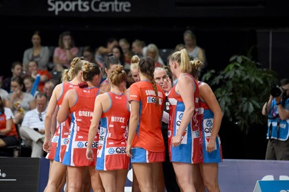 Sports Centre - NSW Swifts Team - Photography by Delly Carr