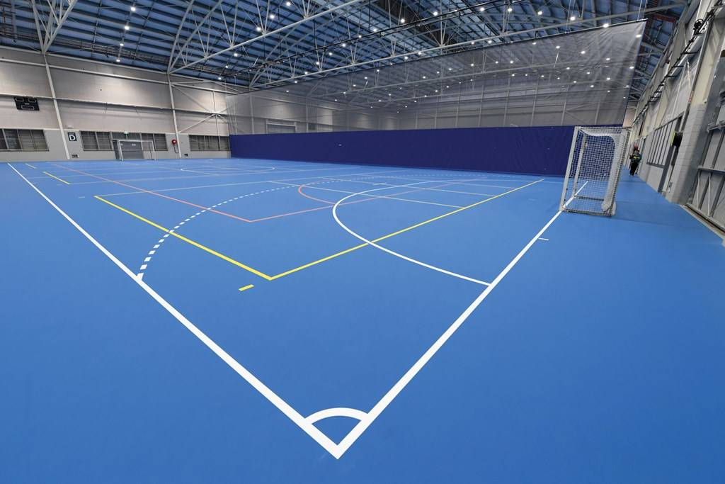 Sports Halls Indoor soccer DEL_6100