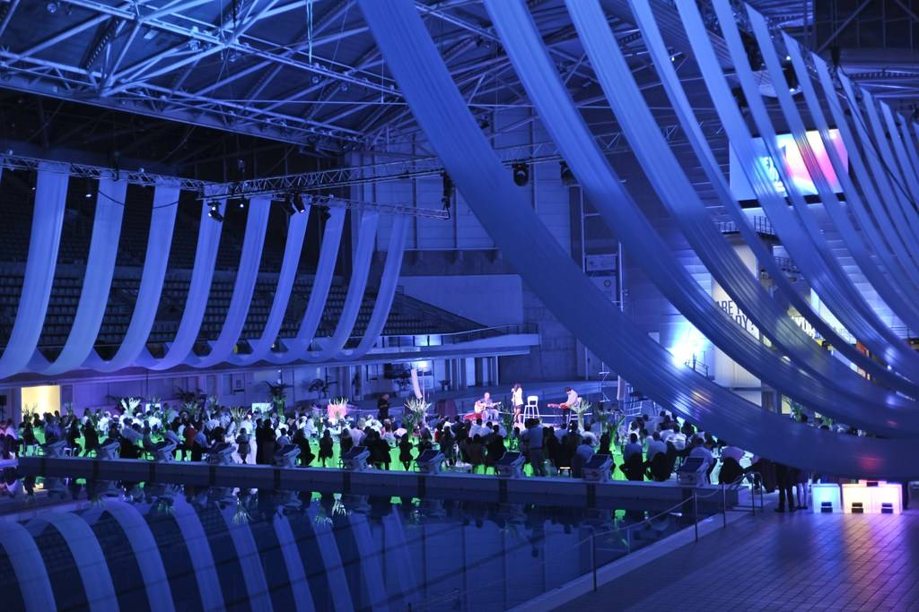 Sydney Olympic Park Aquatic Centre - poolside function