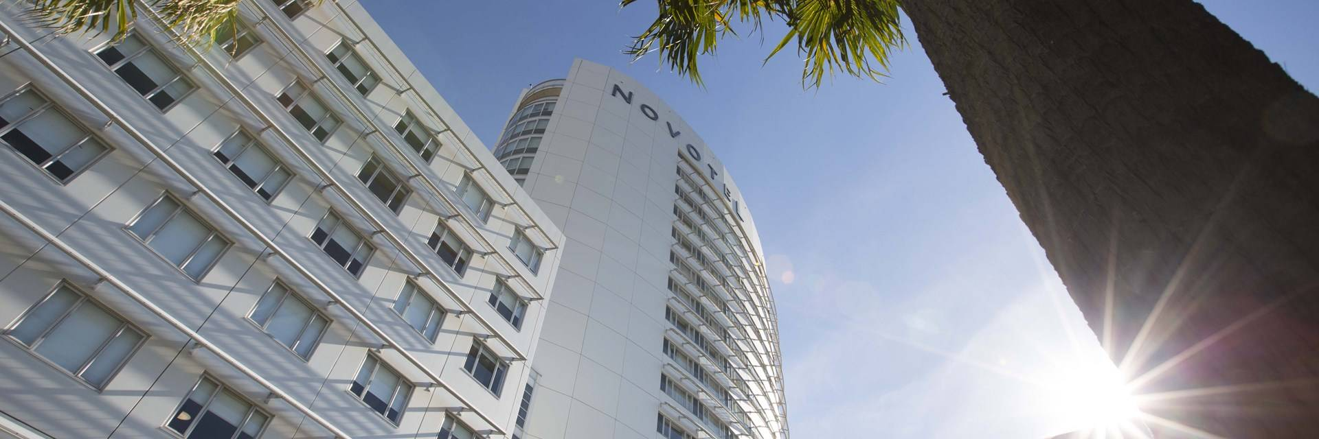 Sydney Olympic Park - external shot of the Novotel