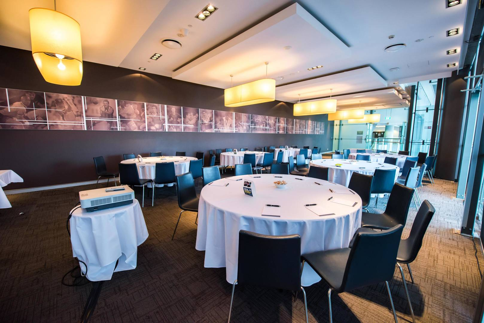 Sydney Olympic Park - Captains Room - Photography courtesy of ANZ Stadium