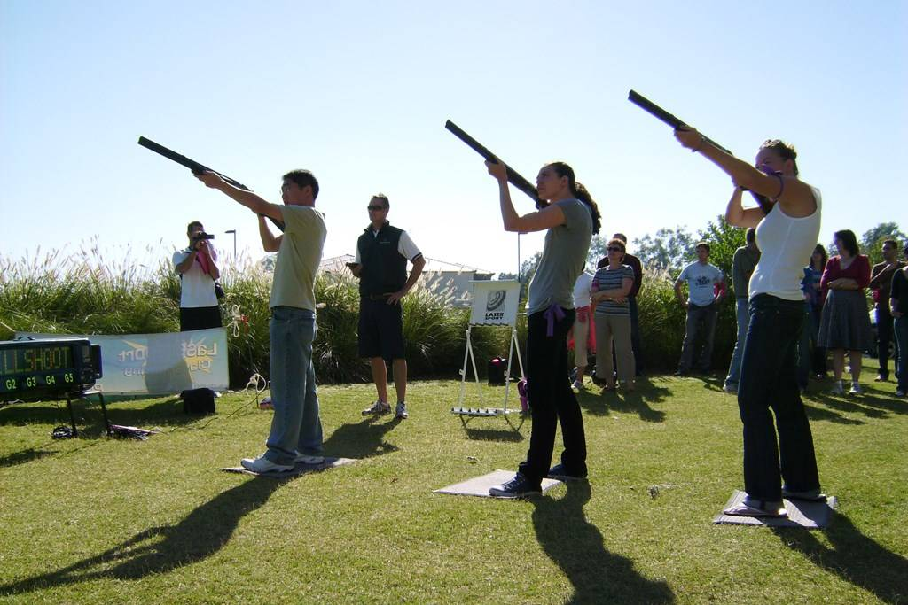 Sydney Olympic Park - Laser Clay Pigeon Shooting