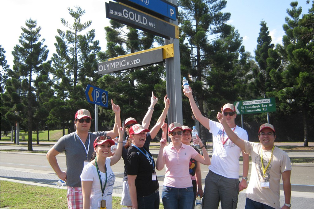 Sydney Olympic Park - Amazing Race
