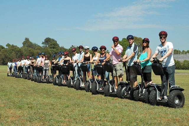 Sydney Olympic Park - Segway Challenges