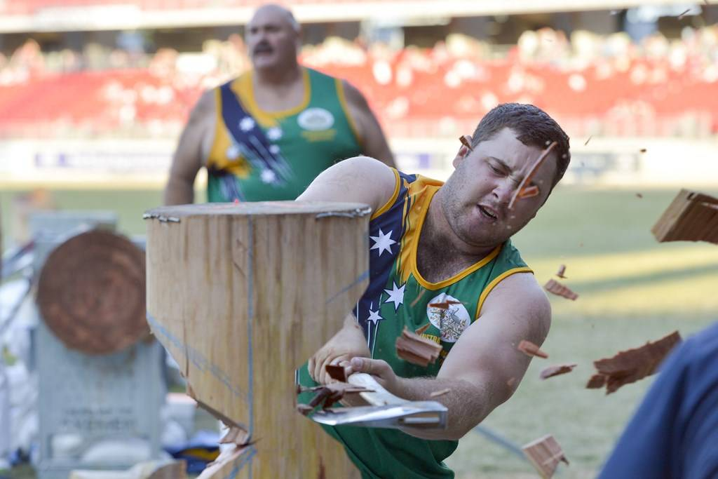 Sydney Showground - Wood Chopping - Photo courtesy of Sydney Showground