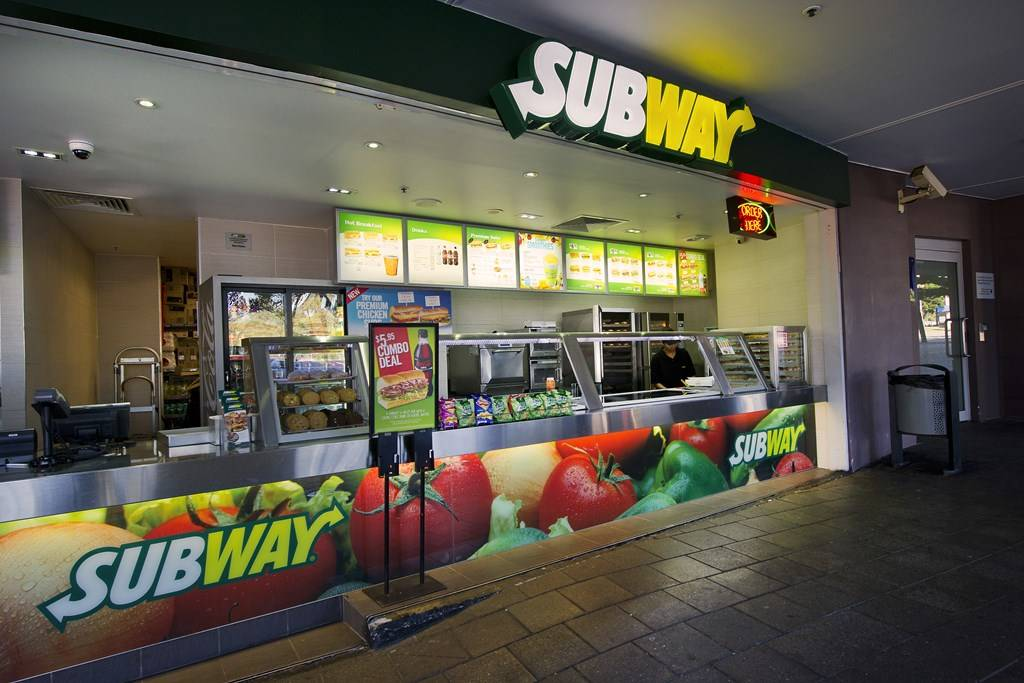 Sydney Olympic Park - Subway fast food restaurant - Photography by Paul K Robbins