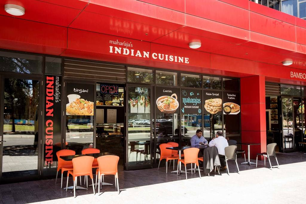 Sydney Olympic Park - exterior shot at Maharajas Indian Cuisine - Photography by James Horan