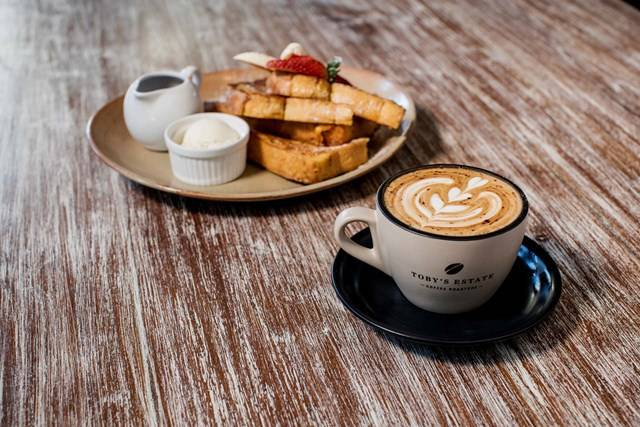 Sydney Olympic Park - french toast and coffee at Urban Cafe - Photography by James Horan