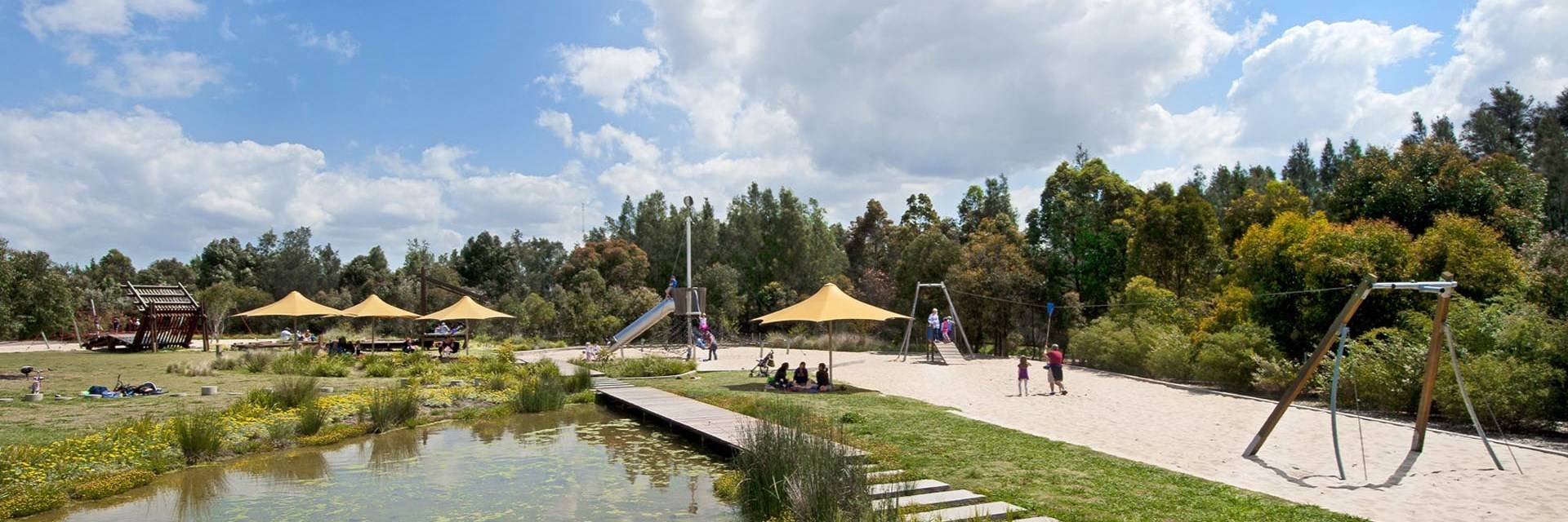 Wentworth Common Sydney Olympic Park