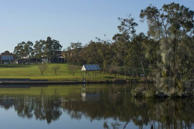 Lake Belvedere at Bicentennial Park, Sydney Olympic Park