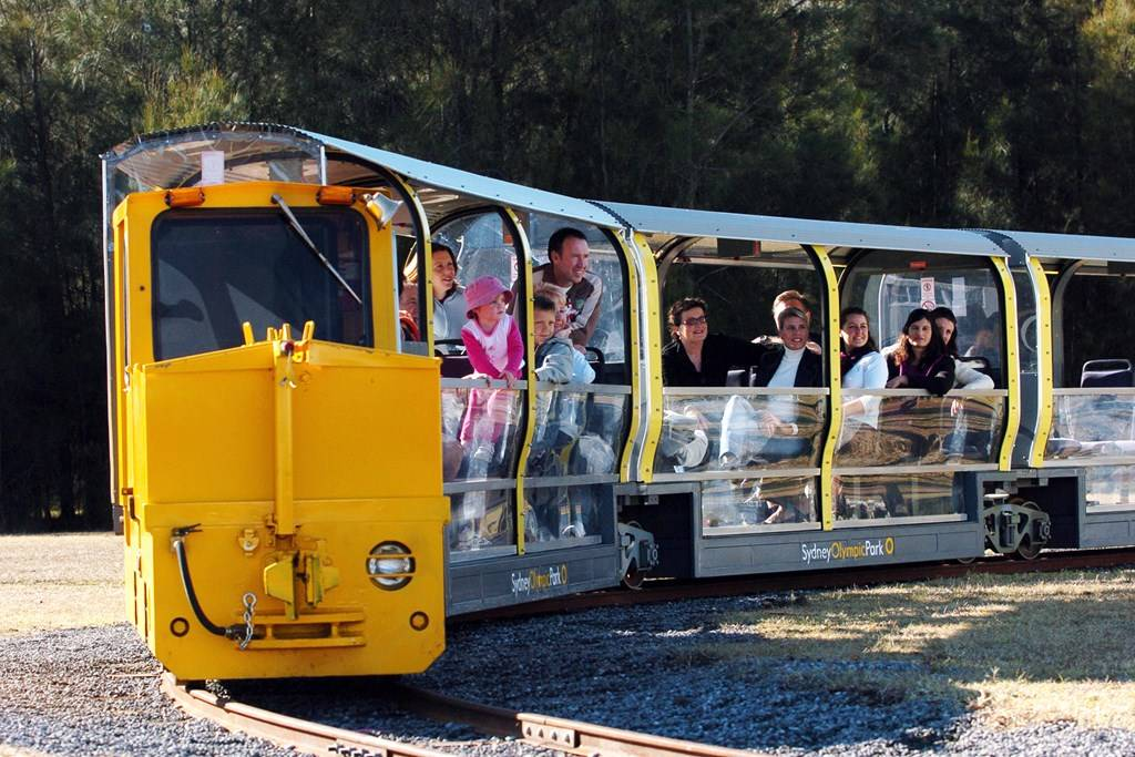 Sydney Olympic Park - Heritage Train - Photography courtesy of Getty