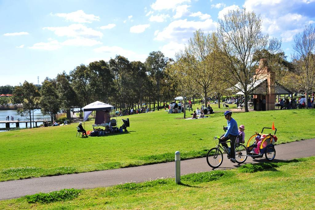 Sydney Olympic Park - Leisure activities at Bicentennial Park - Photography by Fiora Sacco