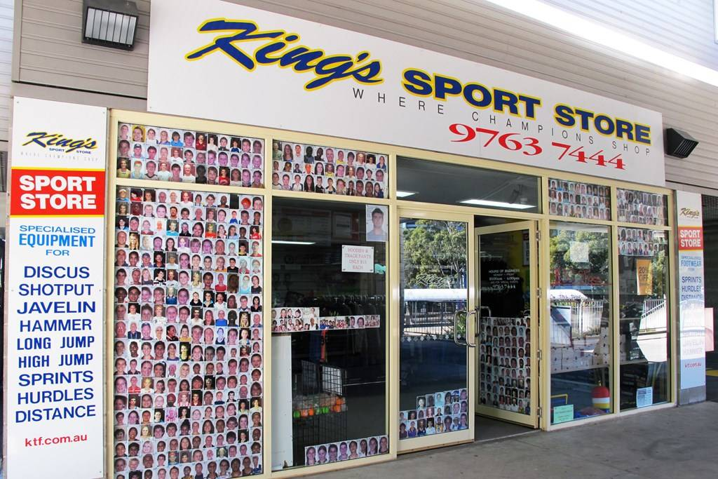 Sydney Olympic Park - King's Sport Store - Photography by Stephanie Stacyana