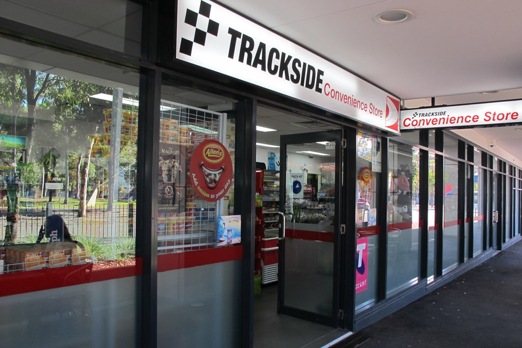 Sydney Olympic Park - Trackside Convenience - Photography by Stephanie Stacyana